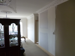 2 new bedroom conversion from lounge room