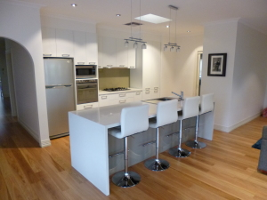Kitchen renovation completed in Greensborough