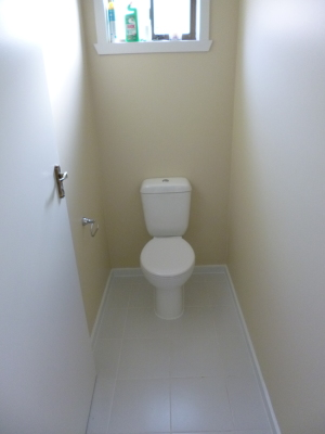 Renovated seperate toilet room