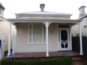 Single fronted victorian home Hawthorn East