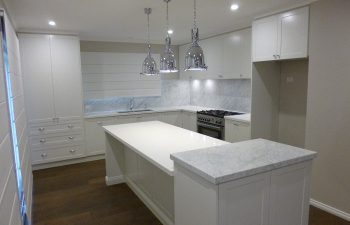 Hampton style kitchen renovation