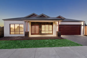 custom designed new home built in Melbourne